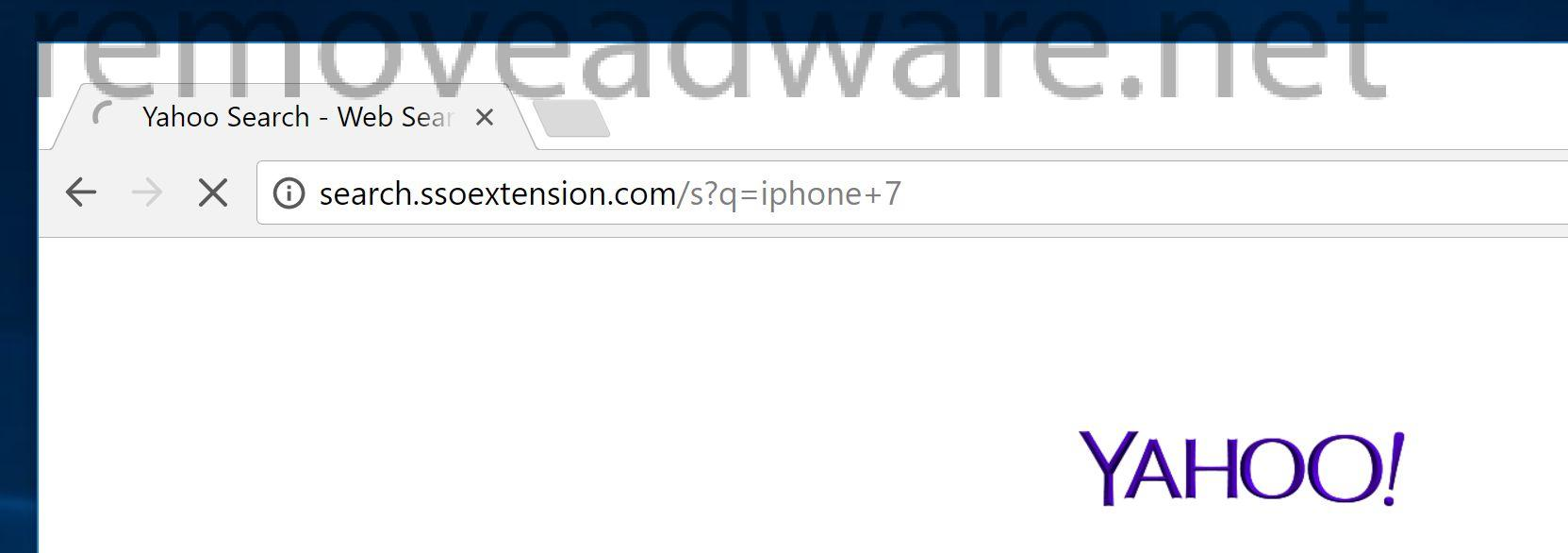 remove Search.ssoextension.com
