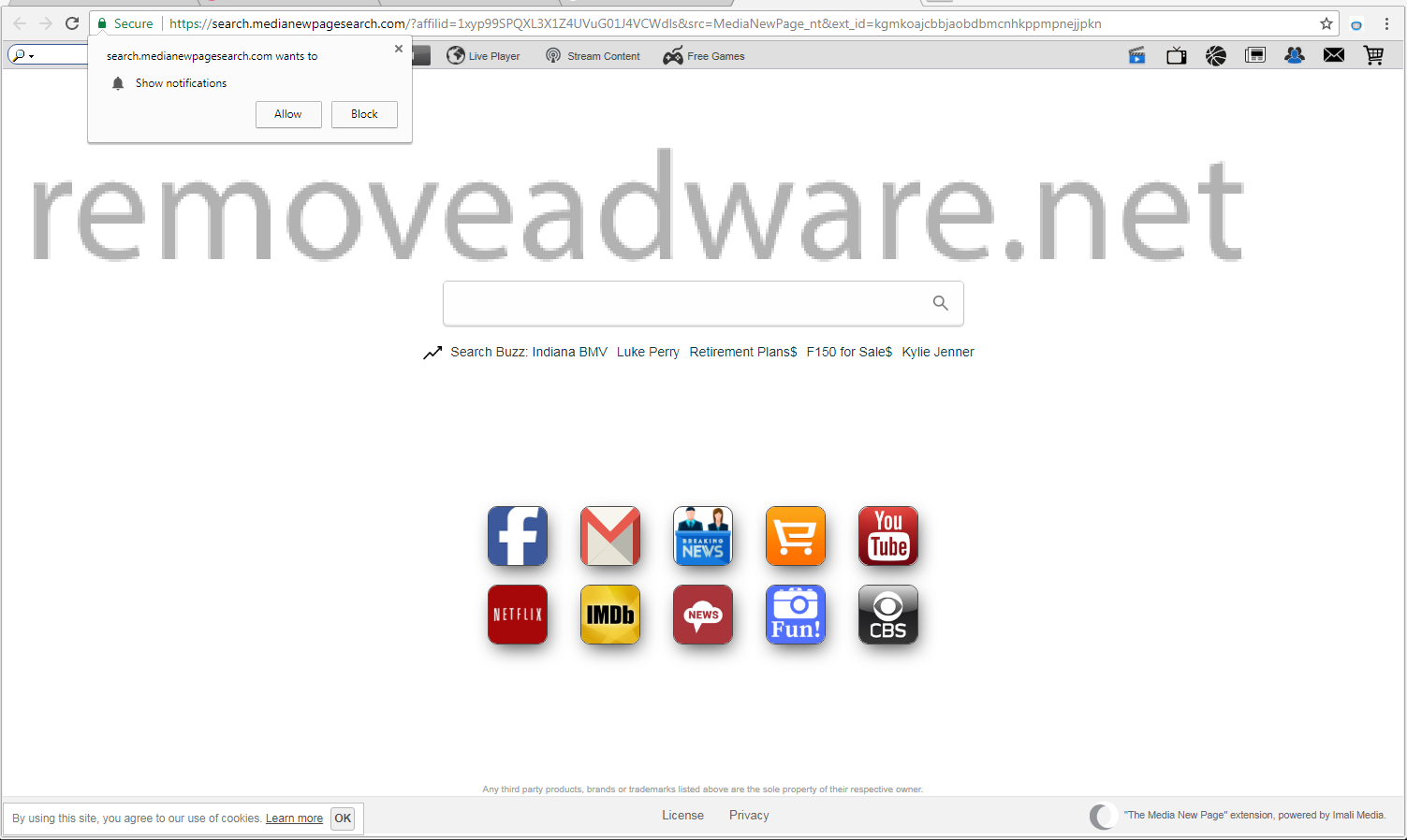 remove Medianewpagesearch.com