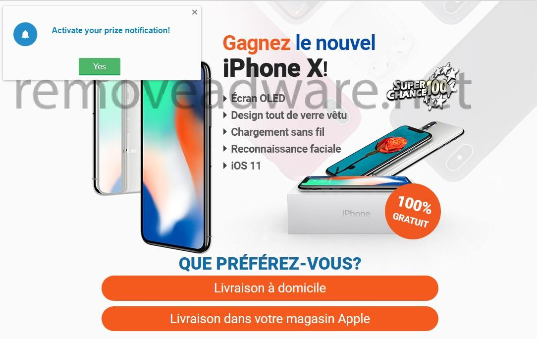 remove Win the new iPhone X