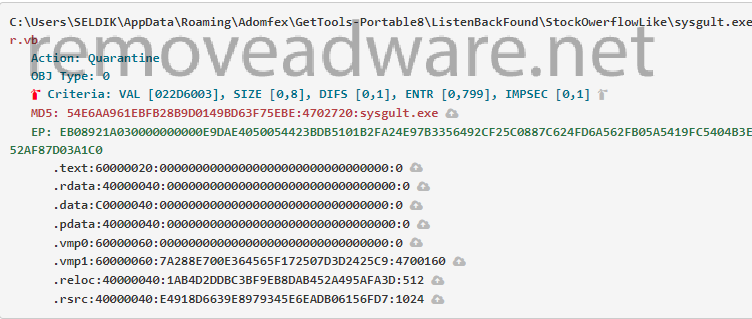 Sysgult exe Miner Bitcoin Virus - How to remove? - Remove Adware