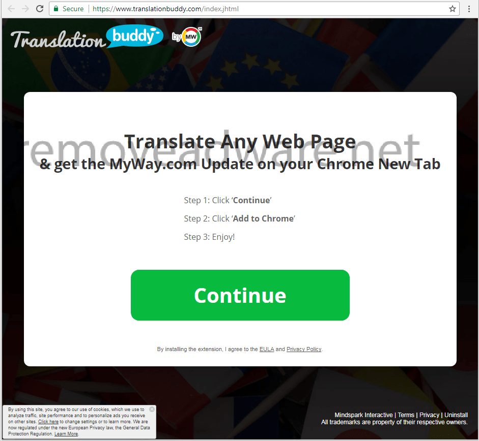 remove Translationbuddy.com