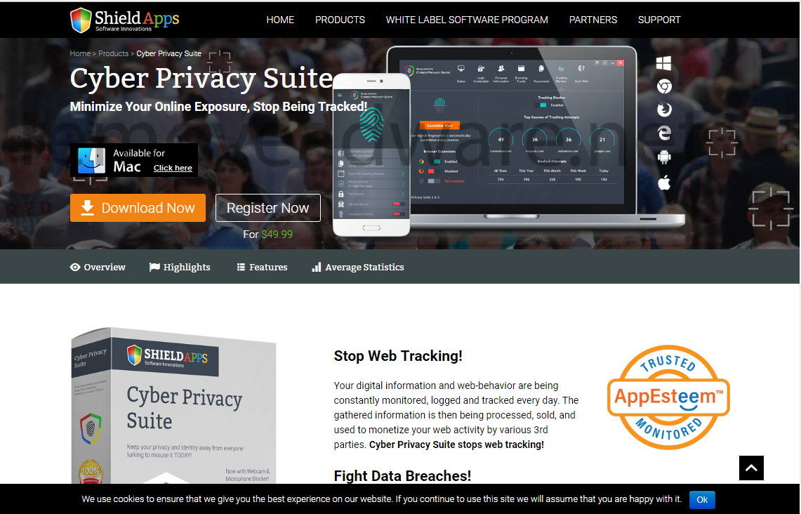 remove Cyber Privacy Suite
