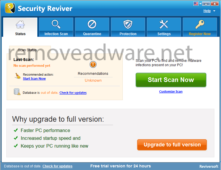 remove Security Reviver