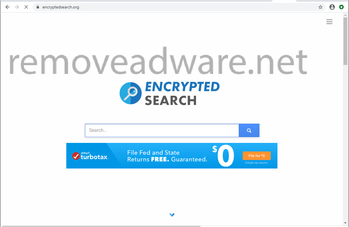 remove Encryptedsearch.org