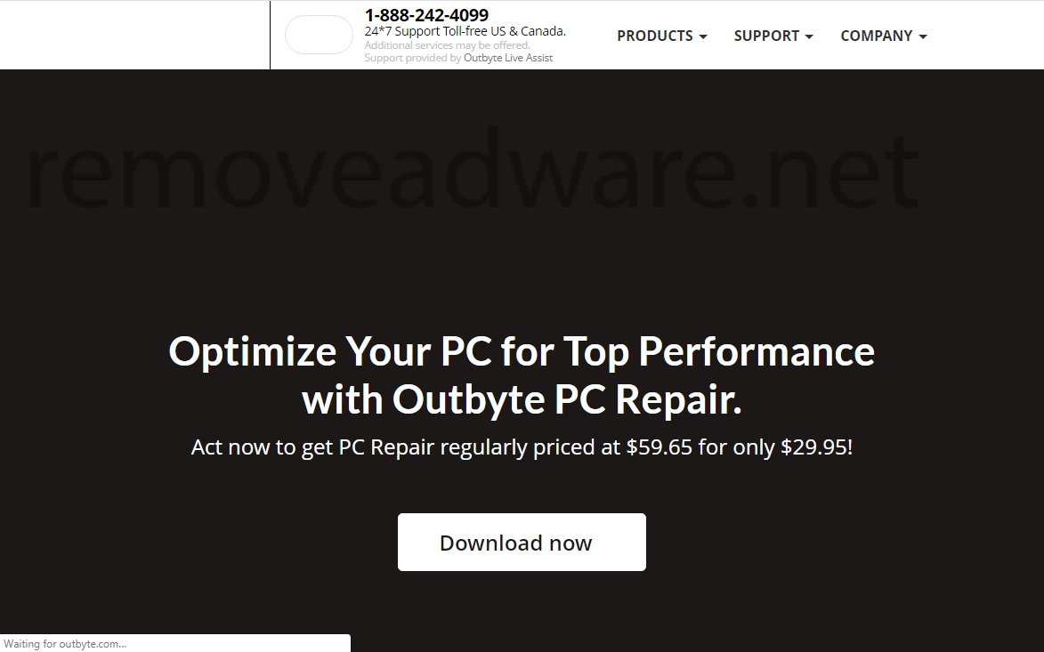 remove Outbyte PC Repair