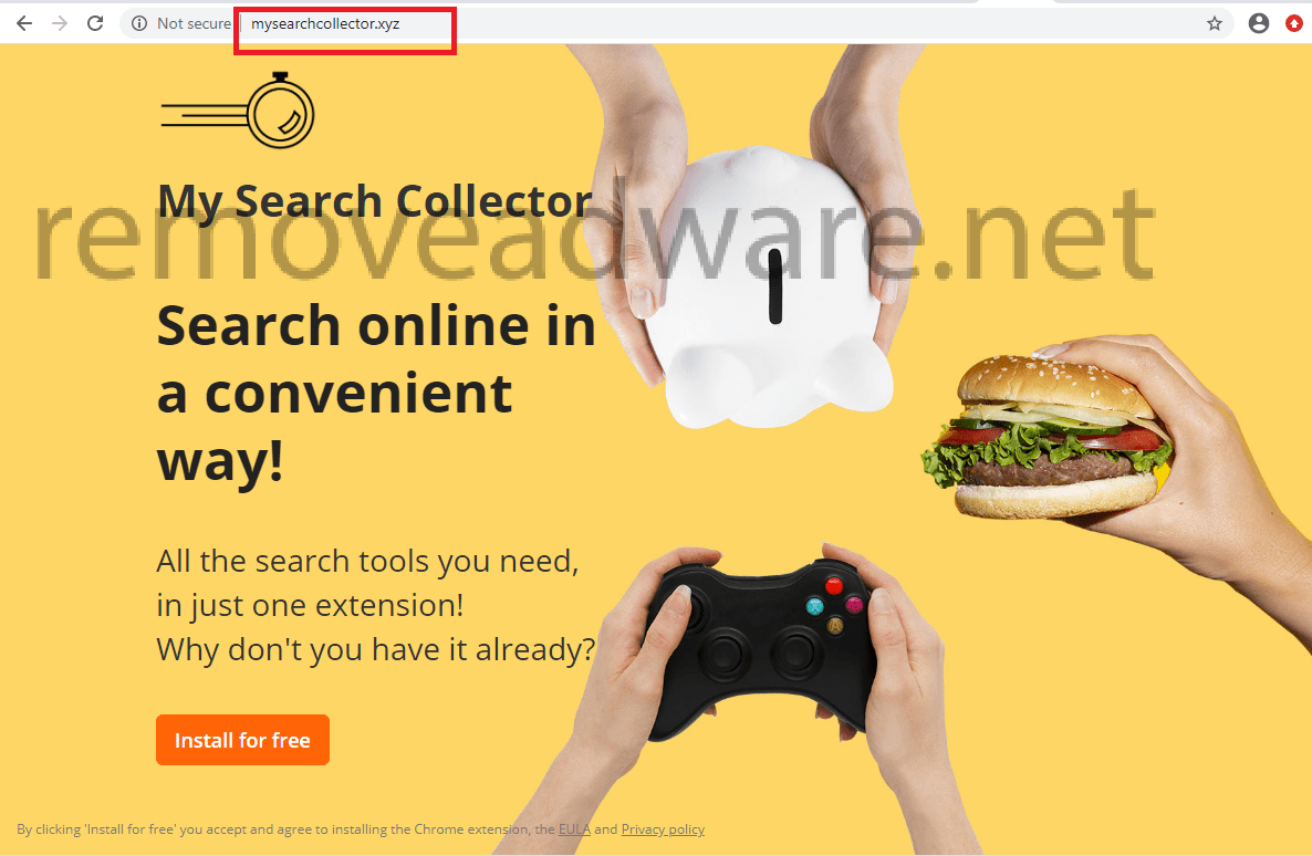 remove Mysearchcollector.xyz